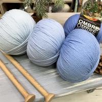100% superwash wool ombre