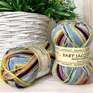 Baby Jacquard Tropical lane